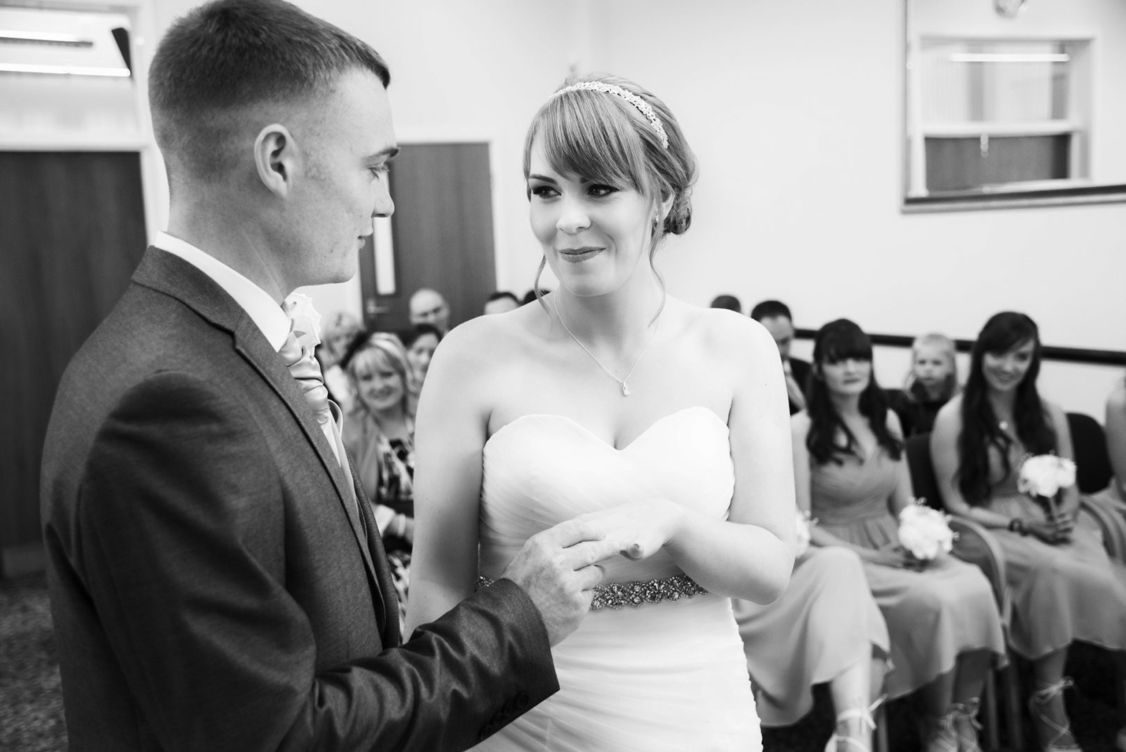 Nuneaton wedding photography by AJTImages at Nuneaton Register Office