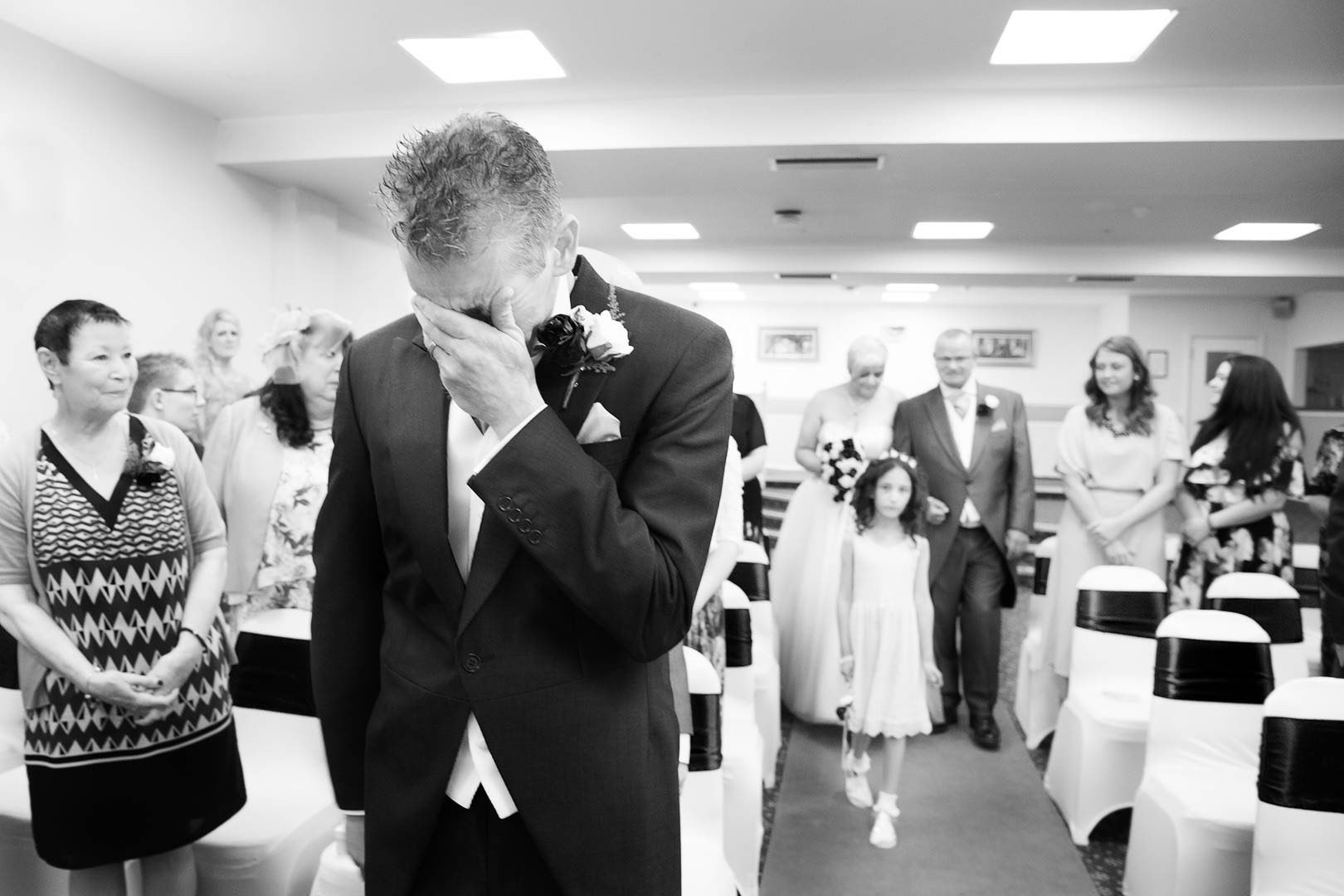 Waiting Grooms Hatherton House Hotel