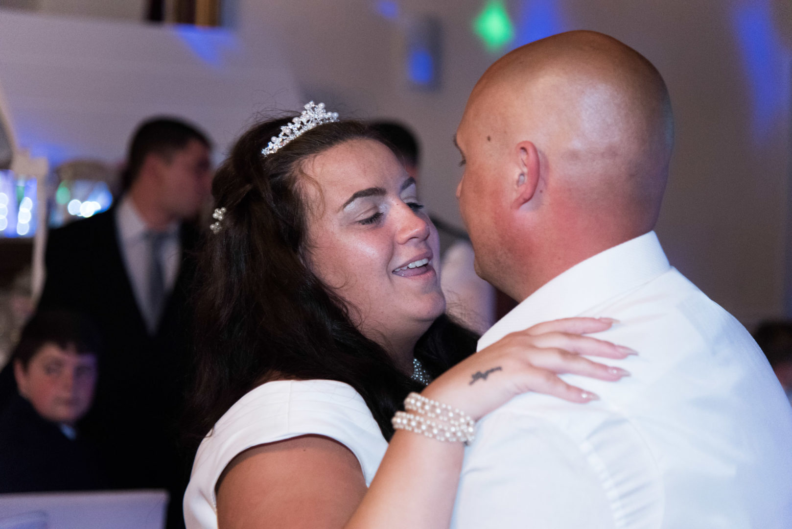 Warwickshire Wedding Photographer AJTImages at Solihull Municipal Club