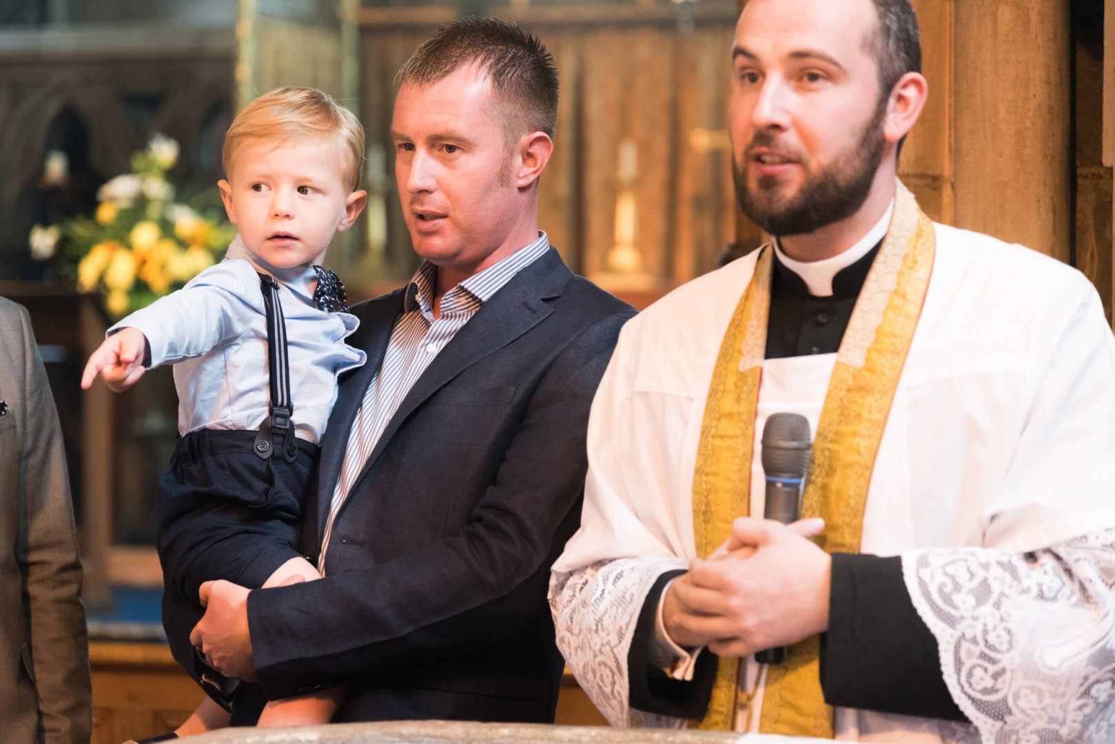 St Mary's church Christening by Nuneaton photographer AJtImages